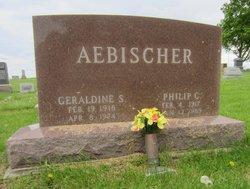 Geraldine S <i>Baer</i> Aebischer