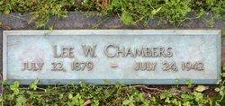 Lee Washington Chambers
