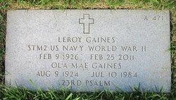 Leroy Gaines