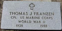 Corp Thomas J Franzen