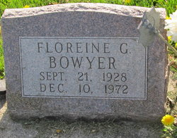 Floreine G. <i>Mapes</i> Bowyer