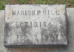 Marion P Hill