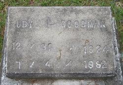Ruby L Goodman