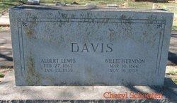 Willie <i>Herndon</i> Davis