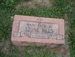 Mary Patricia <i>Stone</i> Bills