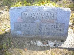 Myrtle <i>Silvis</i> Plowman