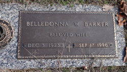 Belledonna W Barker