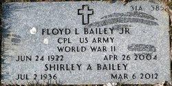 Shirley A <i>Hussey</i> Bailey