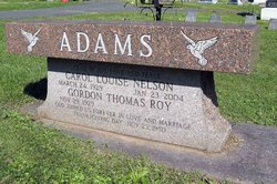 Carol Louise <i>Nelson</i> Adams