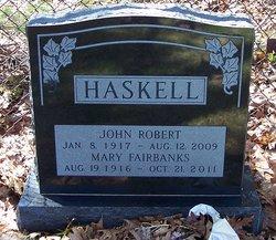 Mary <i>Fairbanks</i> Haskell