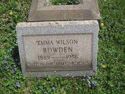Emma <i>Wilson</i> Bowden