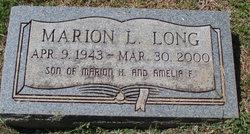 Marion L Long