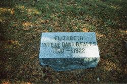 Elizabeth Lizzie <i>Williams</i> Fales