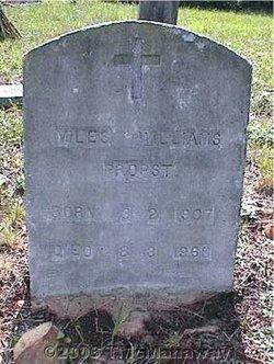 Miles Williams Propst