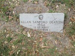 Allen Sanford Deaton