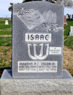 Martha A <i>Junker</i> Isaac