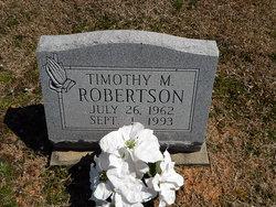 Timothy Monroe Robertson