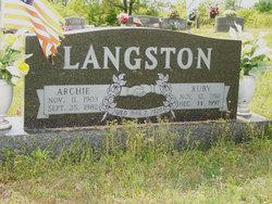 William Archie Langston
