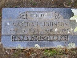 Martha Louella <i>Daniels</i> Johnson