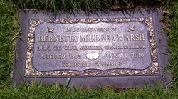 Bernetta Mildred <i>Brandon</i> Marsh