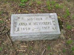 Anna Mary <i>Mayer</i> McVickers