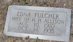 Edna Edner <i>Fulcher</i> Allison