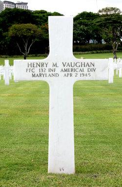 PFC Henry M Vaughan