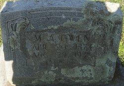 Maurice Alford Morris Owen