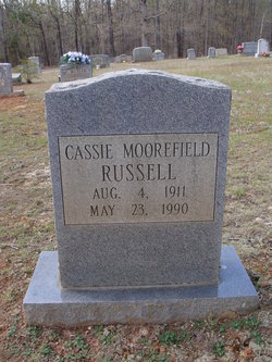 Cassie Christine <i>Moorefield</i> Russell