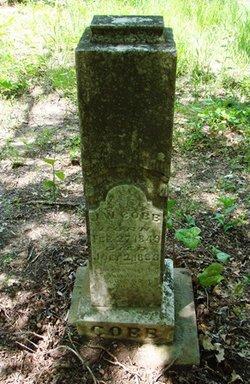 Pvt J W Jack Cobb