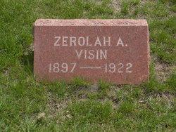 Zerolah Alverta <i>Stump</i> Visin