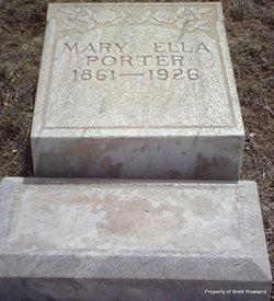 Mary Ella Porter