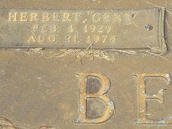 Herbert Eugene Gene Benfield, Sr
