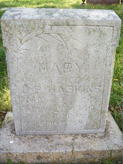Mary Elizabeth <i>Capehart</i> Haskins