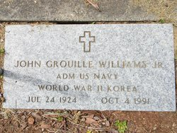 Adm John G. Williams, Jr
