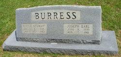 Minnie Elma <i>Stewart</i> Burress