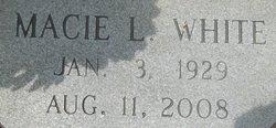 Macie L <i>McSwain</i> White