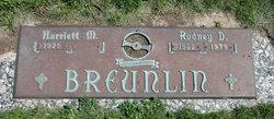 Rodney D Breunlin