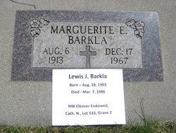 Lewis J Barkla
