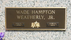 Wade Hampton Weatherly, Jr