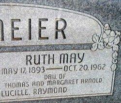 Ruth May <i>Arnold</i> Bergmeier