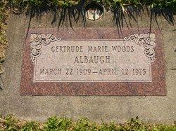 Gertrude Marie <i>Woods</i> Albaugh