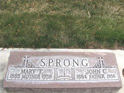 Mary T Sprong