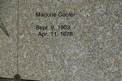 Marjorie Allen <i>Belger</i> Cooler