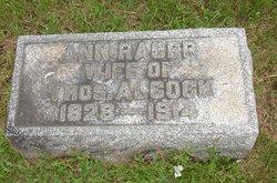 Ann O. <i>Racer</i> Alcock