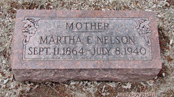 Martha E. <i>Sutton</i> Nelson