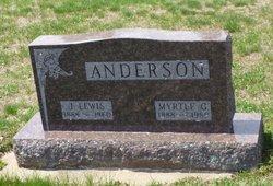 Myrtle G. <i>Christensen</i> Anderson