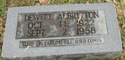 Dewitt Albritton