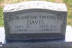 Blanche <i>Owens</i> Davis