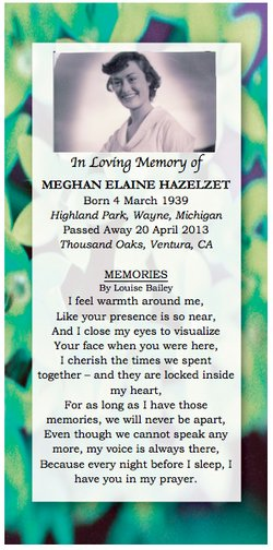 Meghan Elaine <i>Register</i> Hazelzet